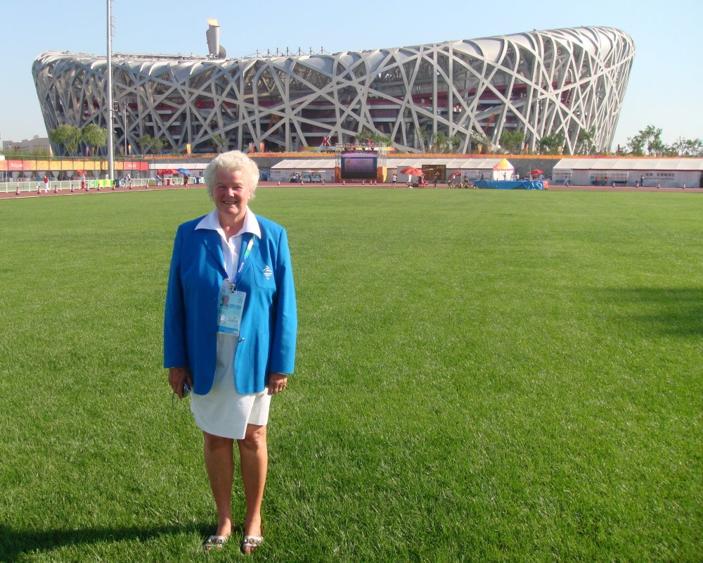 Sue McKiernan at Beijing 2008