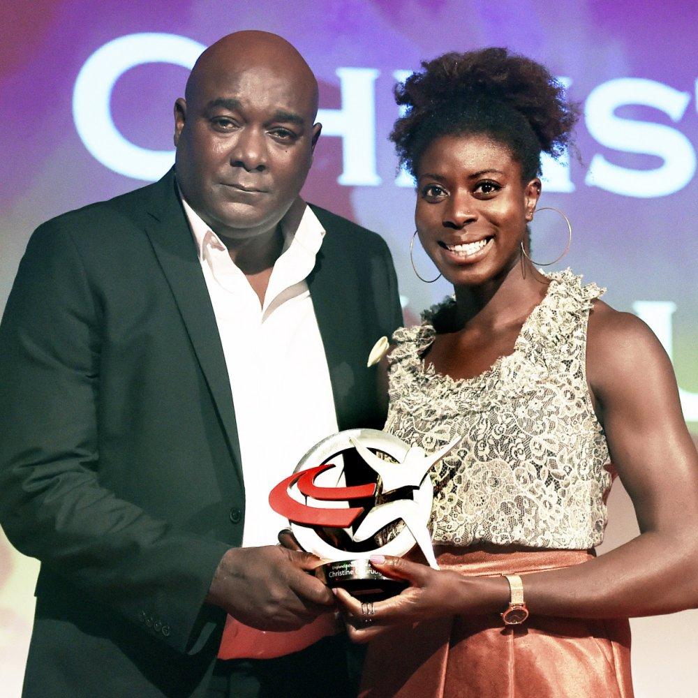Lloyd Cowan and Christine Ohuruogu