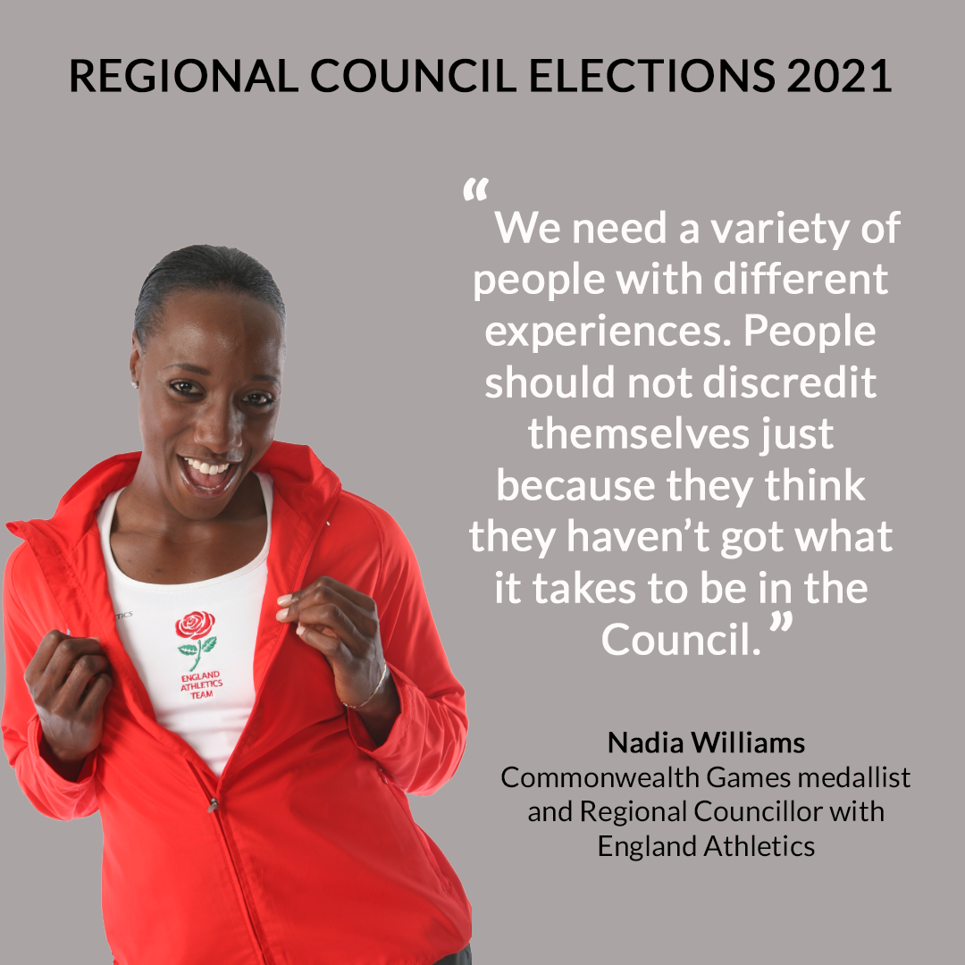 Nadia WIlliams with quote