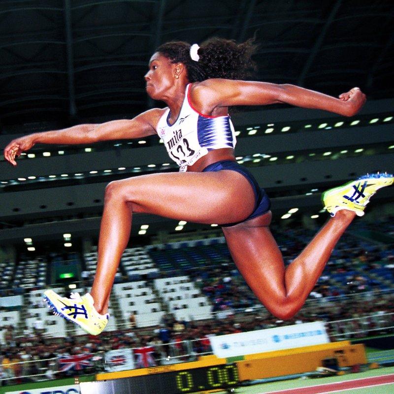 Triple Jump: Ashia Hansen.