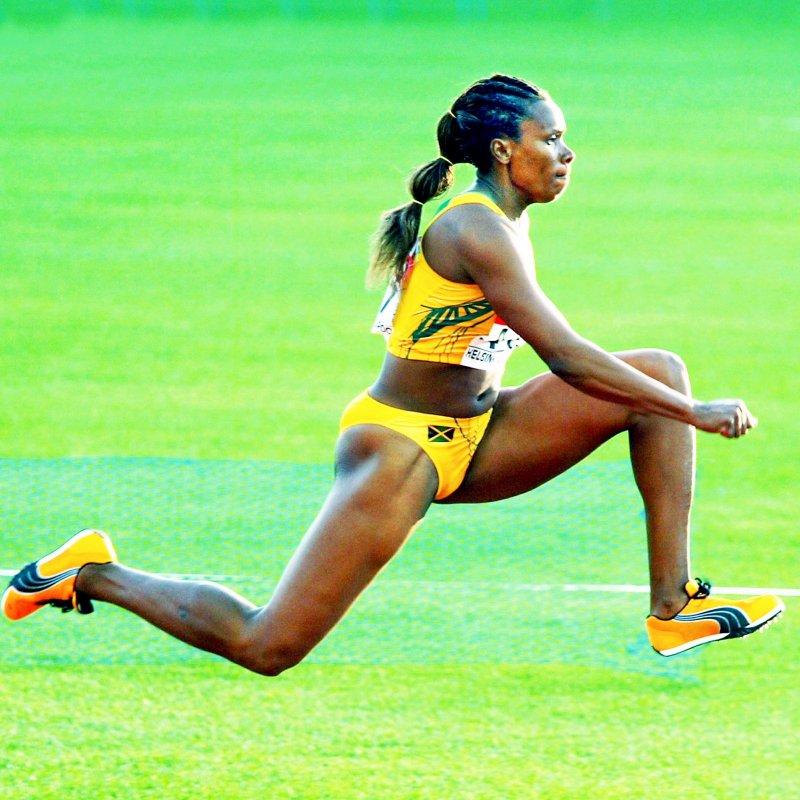 Triple Jump: Trecia Smith.