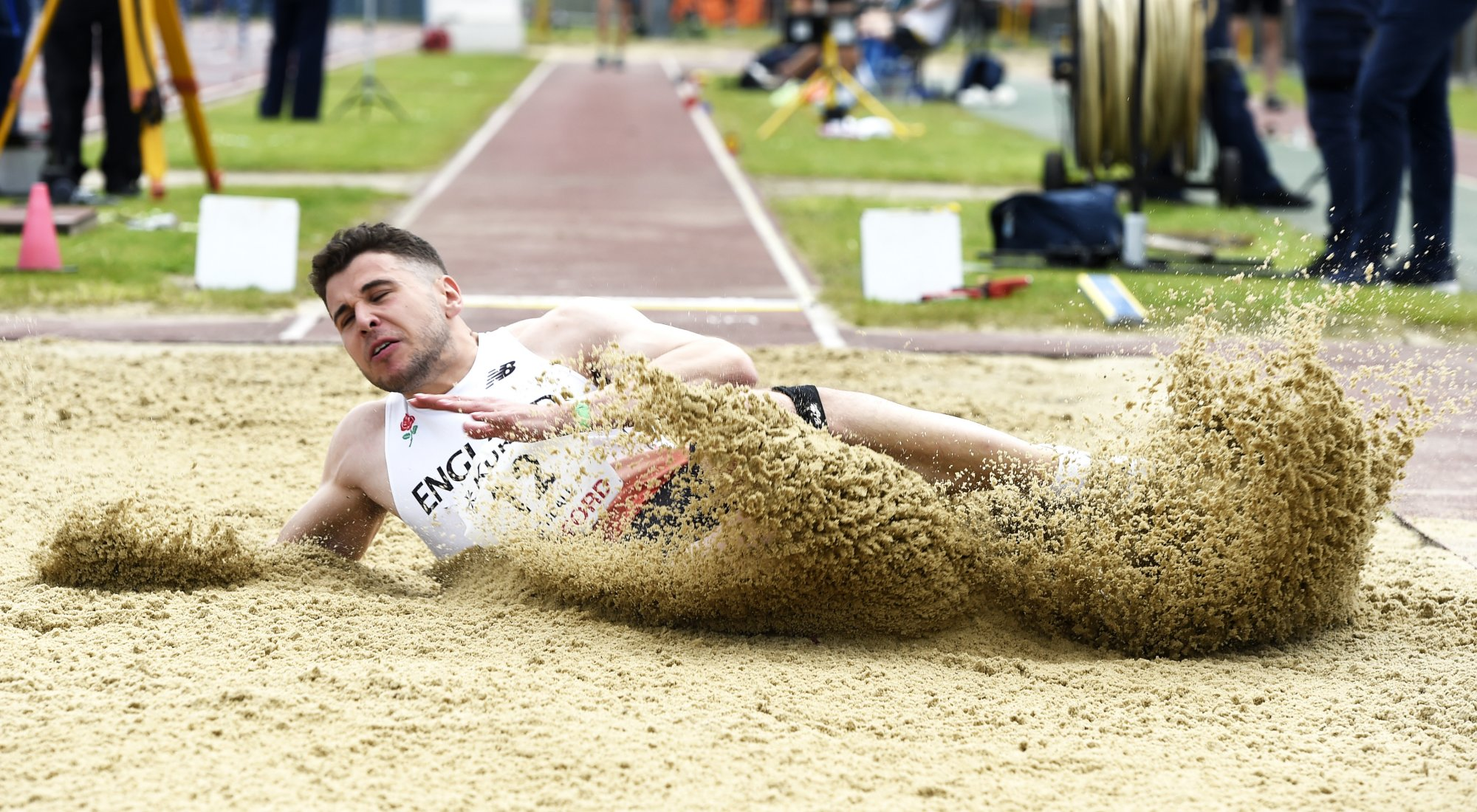 HARRY KENDALL long jump