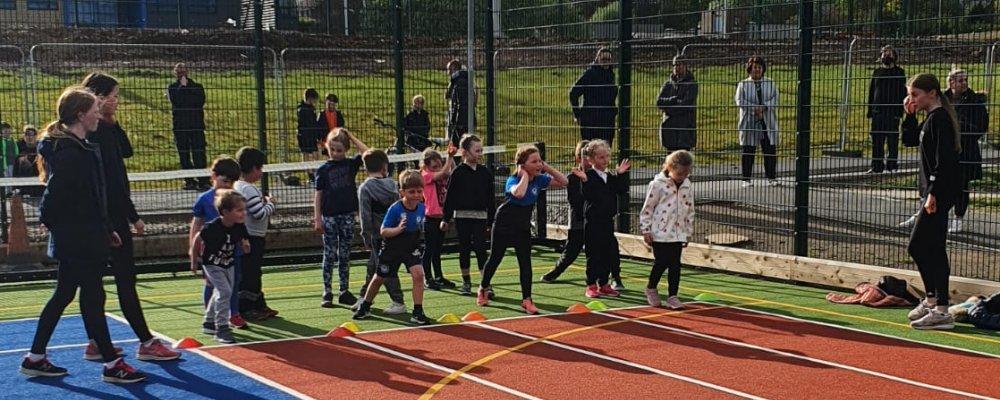 Hartlepool young athlete training image