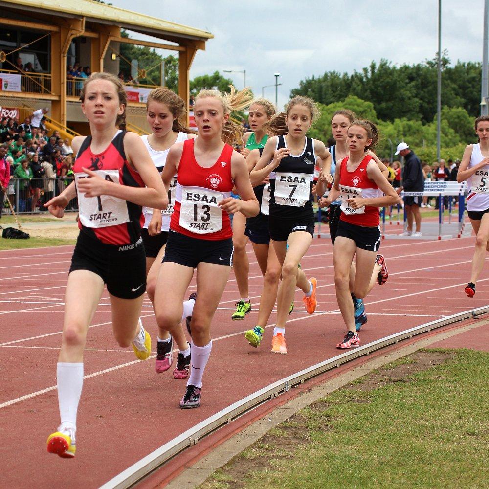 English Schools AA runners