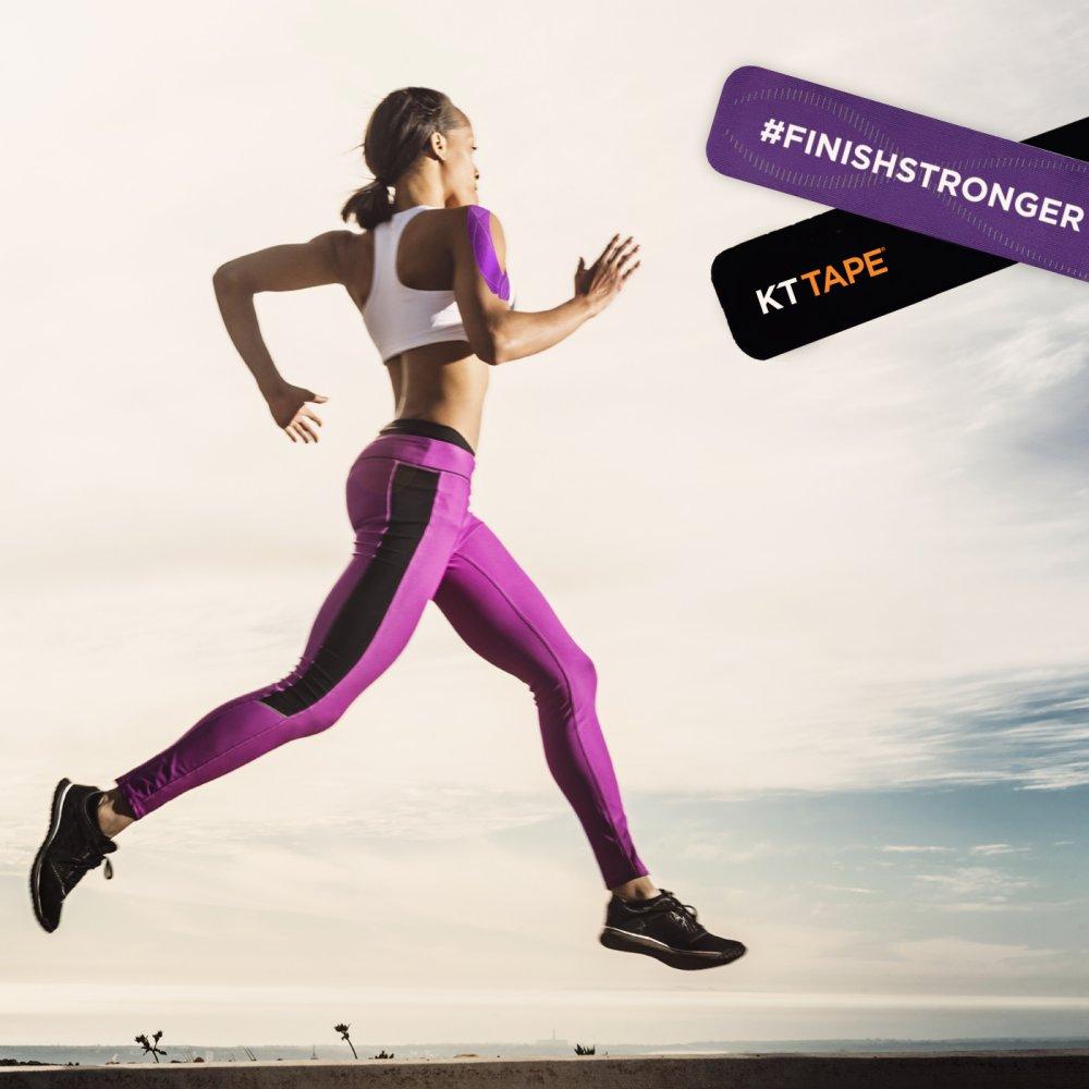 KT Tape woman running