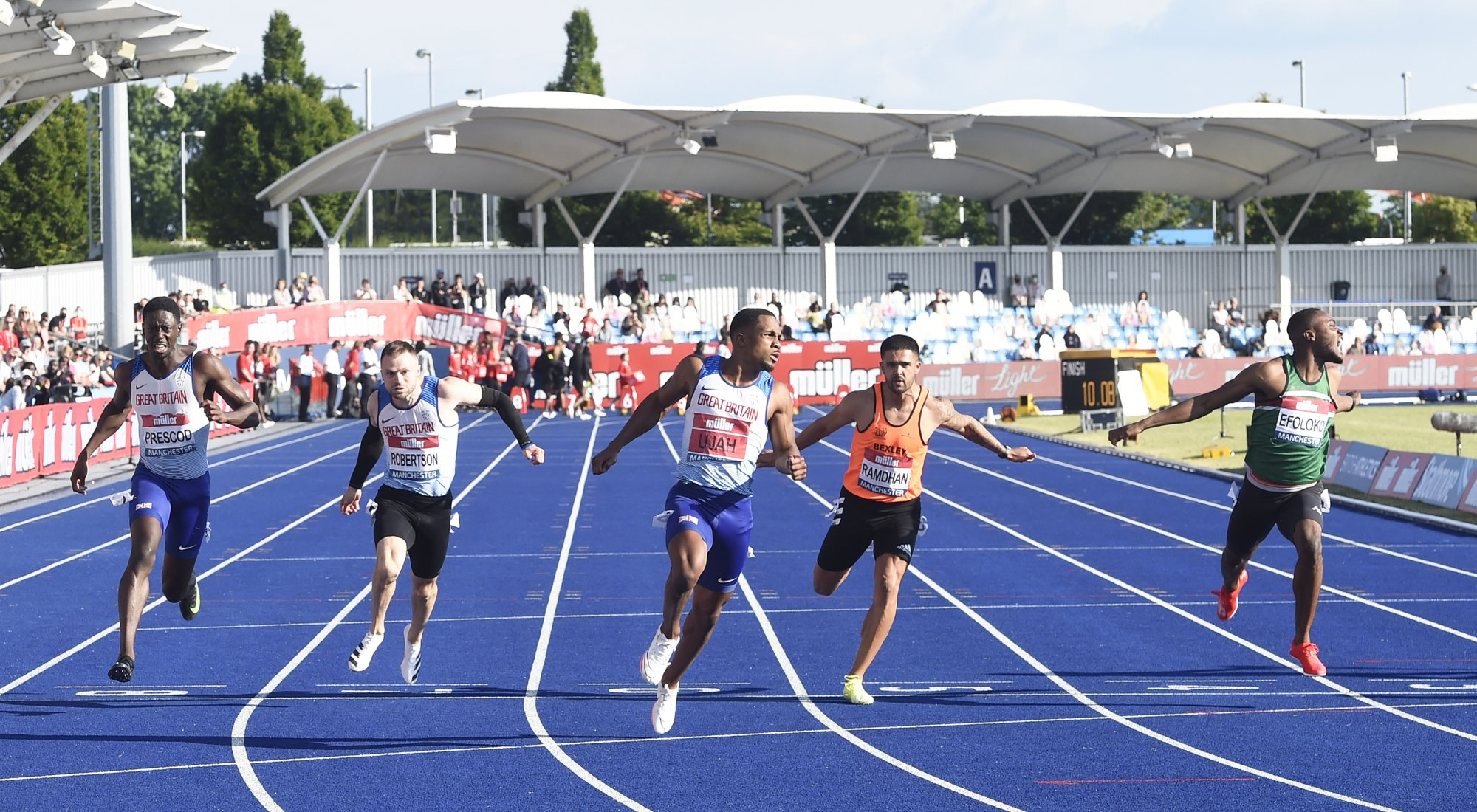 100m British Champs 2021