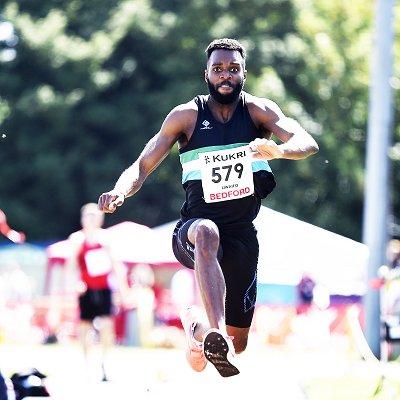 Men's triple jump winner at 2021 England Senior champs
