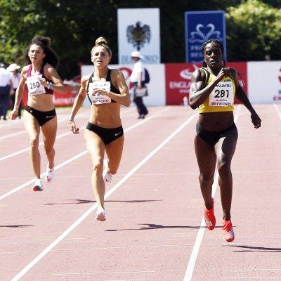 Women's 400m winner at 2021 England Senior champs