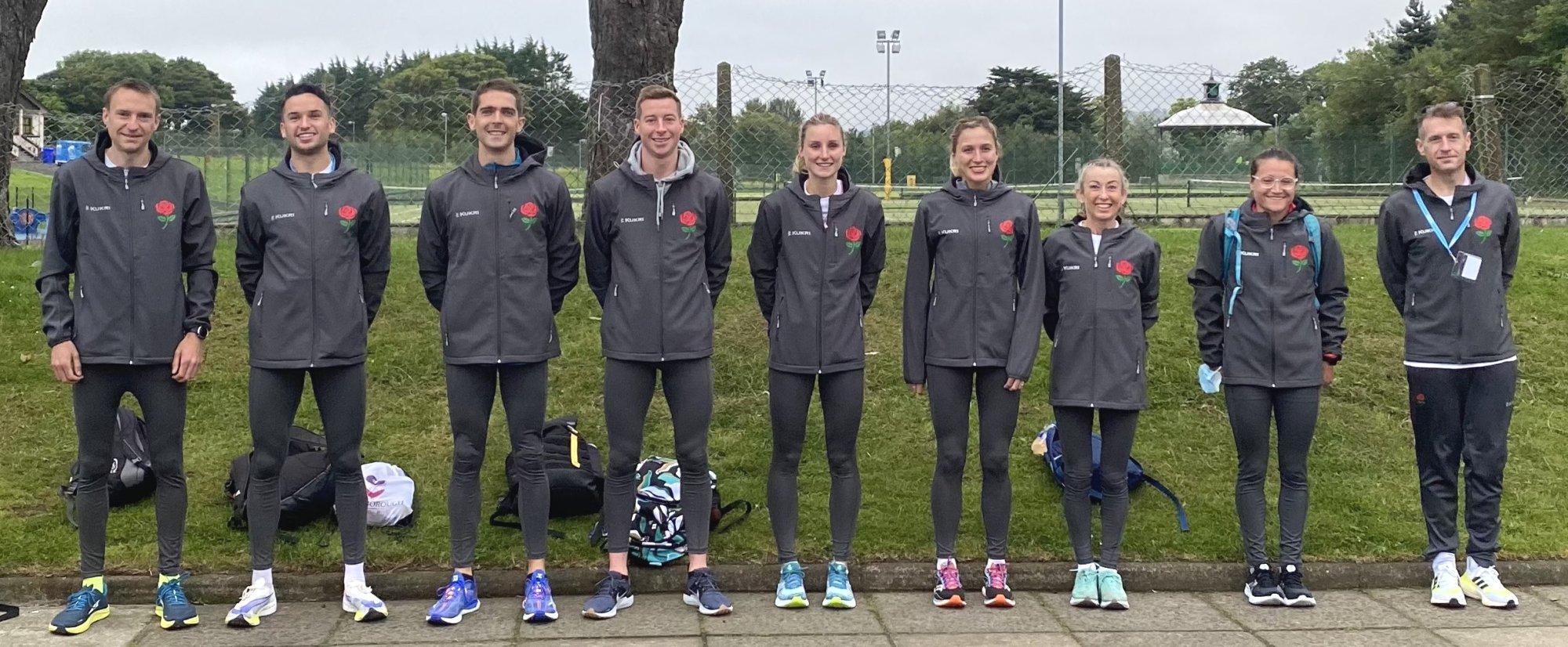 Antrim Coast Half team 2021