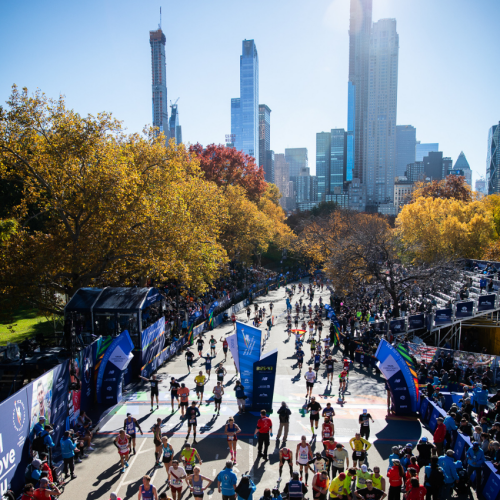 Mass running event with Sports Tours International